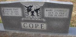 Mary J <i>Forrest</i> Taft