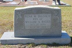 Rena M <i>DeLoach</i> Baggs