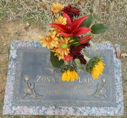 Zona Faye <i>Bradley</i> Lain