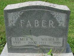 Wilma E <i>Sherwood</i> Faber
