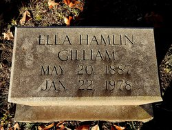 Ella Bell <i>Hamlin</i> Gilliam