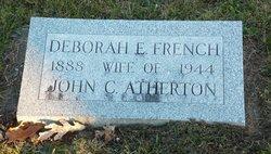 Deborah <i>French</i> Atherton