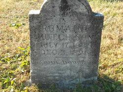 Elizabeth Romain <i>Haws</i> Hutchinson