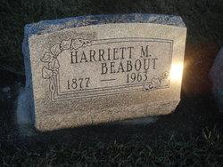Harriet M <i>Ewbank</i> Beabout