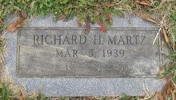 Richard H Dick Martz