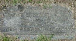 Mamie Elizabeth Allen