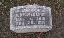 Caroline C McClure