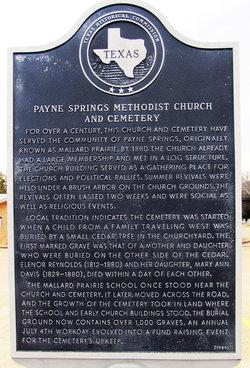 Payne Springs Cemetery