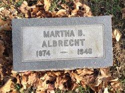 Martha <i>Bell</i> Albrecht