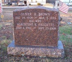 Albertine E <i>Fredette</i> Brown