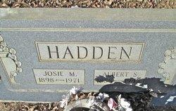 Albert S Hadden