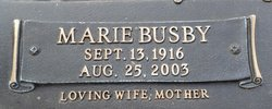 Marie Elizabeth <i>Busby</i> Baker