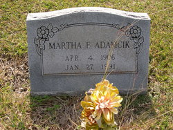 Martha Elizabeth Adamcik