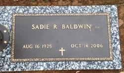 Sadie Ruth <i>Shepherd</i> Baldwin