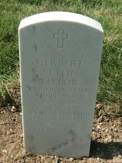 Herbert Afton Taylor