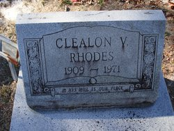 Clealon Virginia <i>Lord</i> Rhodes