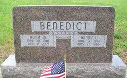 Alma Maude <i>Taylor</i> Benedict