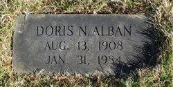 Doris N Alban