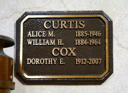 Alice Marie <i>Raub</i> Curtis