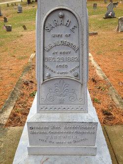 Sarah E. <i>Clotfelter</i> Alderson