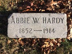 Abbie W <i>Preston</i> Hardy