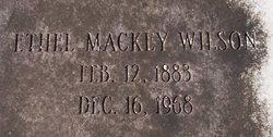 Ethel <i>Mackey</i> Wilson