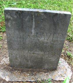 William Anthony Weaver, Sr