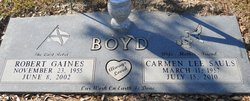 Carmen Lee <i>Sauls</i> Boyd