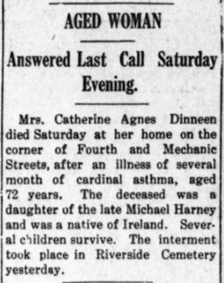 Catherine Agnes <i>Harney</i> Dinneen