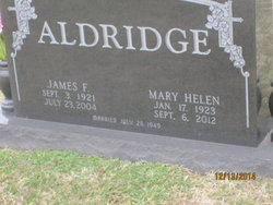 Mary Helen <i>Blue</i> Aldridge