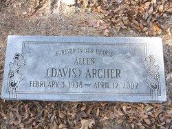 Aleen <i>Davis</i> Archer