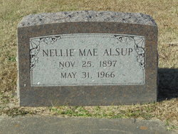 Nellie Mae <i>Cooper</i> Alsup