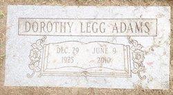 Dorothy M <i>Stewart</i> Adams