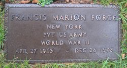 Pvt Francis Marion Force