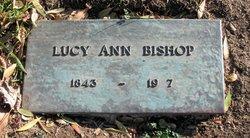 Lucy Ann <i>Hall</i> Bishop