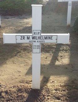 Sr Justina Maria Wilhelmine Alaerts