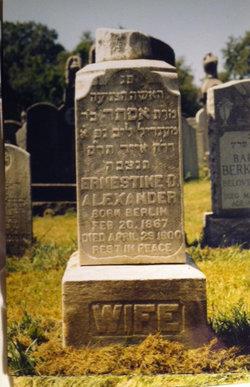 Ernestine D. <i>Epstein</i> Alexander
