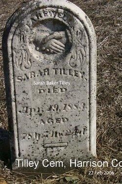 Sarah <i>Baker</i> Tilley