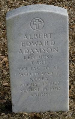 Albert Edward Adamson