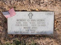Robert Osborn Van Van Horn