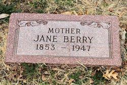 Elizabeth Jane <i>Loper</i> Berry