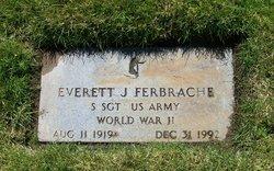 Sgt Everett James Ferbrache