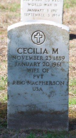 Cecilia M MacPherson