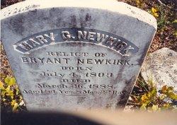 Mary Catherine Molly <i>Hawes</i> Newkirk