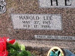 Harold Lee Head