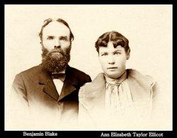 Ann Elizabeth Taylor <i>Ellicock</i> Blake