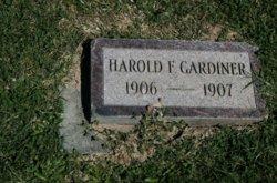 Harold Francis Gardiner