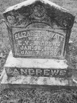 Elizabeth <i>Myatt</i> Andrews