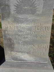 Margaret Berry