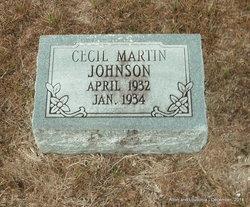 Cecil Martin Johnson